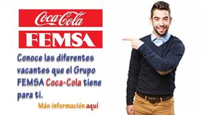 Ofertas de empleo en Femsa Coca Cola Nicaragua