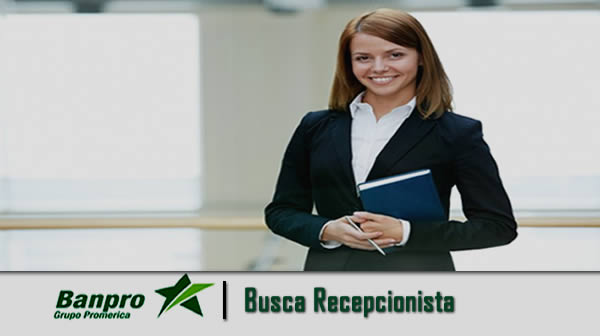 Oferta de empleo banpro recepcionista
