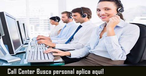 Oferta de empleo callcenter