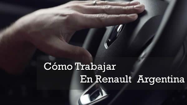 Como trabajar en renault argentina