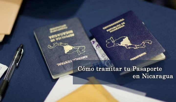 Requisitos para trámite de pasaporte nuevo o renovación en Nicaragua
