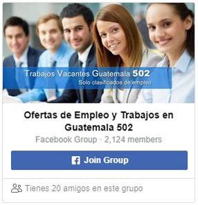 Unete a nuestro grupo en facebook